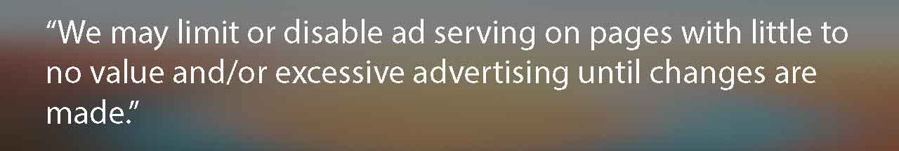 revised-adsense-policy august 2016