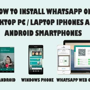 how to install whatsapp on pc windows 7 Archives - The
