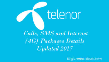Telenor-Calls,-SMS-and-Internet-(4G)-Packages-Details