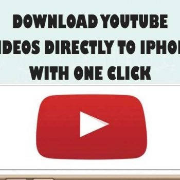 download youtube to iphone 2018