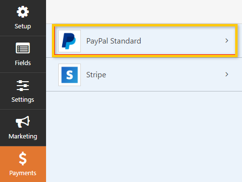 How to donate from paypal in WPForm ultimate