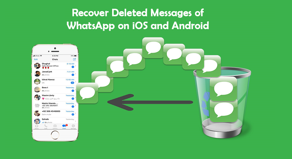 How to Recover Deleted Messages of WhatsApp on iOS and Android