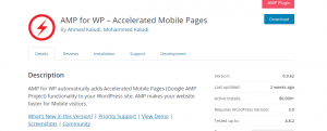 download amp for wordpress