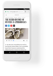 how google amp speed up mobile pages