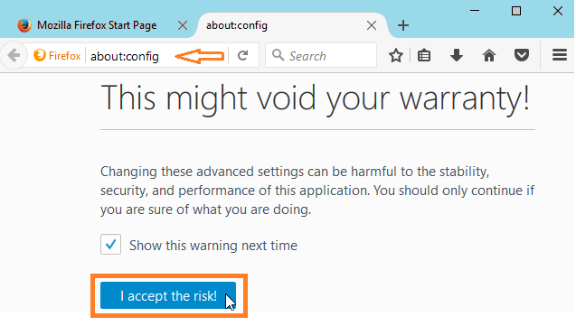 how to stop show notifications in firefox