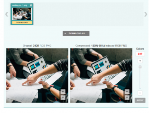 how to use Crush pics image compression and optimization