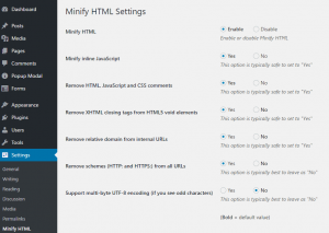 how to use minify html tool easily