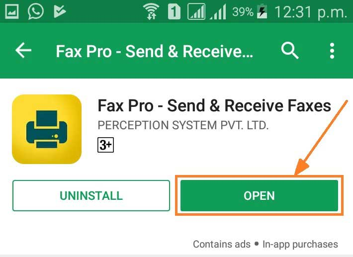 Fax pro send and receive faxes from phone