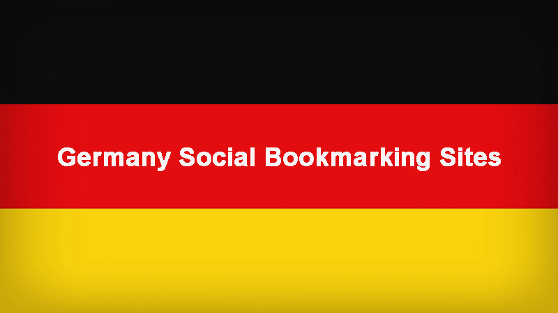 Germany Social Bookmarking Sites List to be Visible Among
