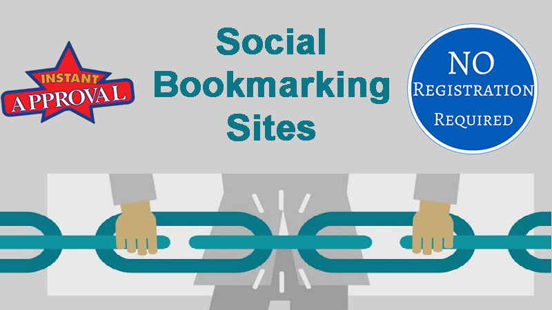 Social Bookmarking Websites without Registration || Instant