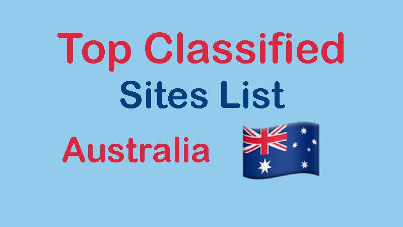 Free Classified Ads Sites List Australia To Post Free Ads