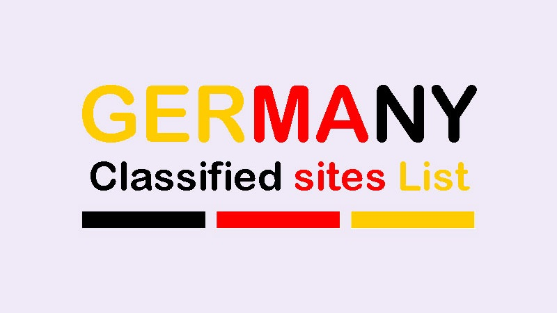 Free Germany Classified Ads Sites List For Cars Jobs Mobiles Real