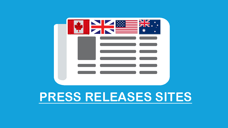 free press release submission sites list usa uk canada and australia