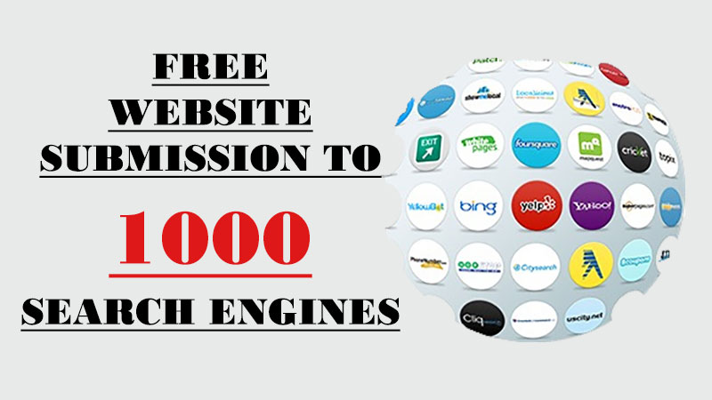 Search Engine Submission Sites List | Submit Site to 1000