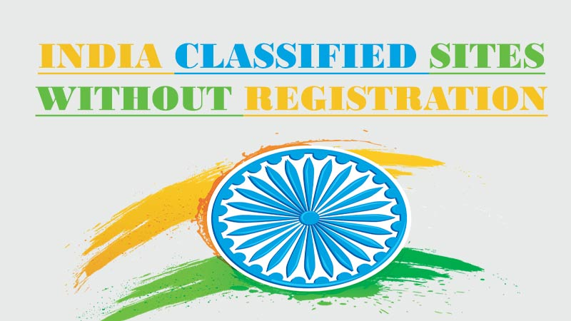 Free Classified Sites in India without Registration For Free Advertising