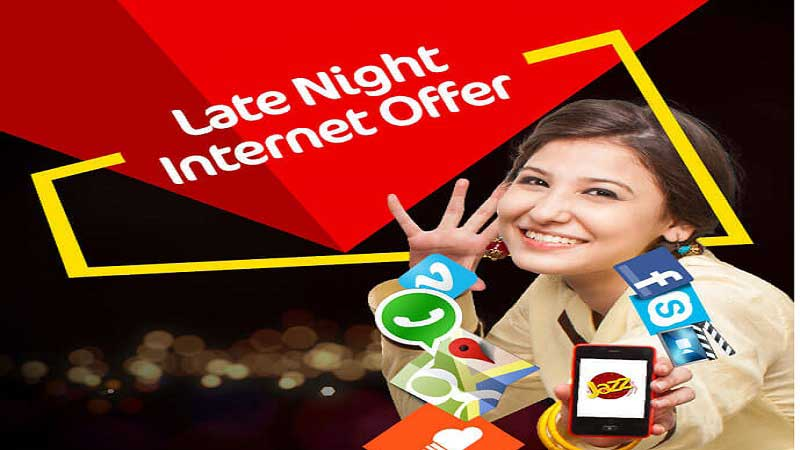 Jazz 3 Day Extreme Offer Weekly Late Night Internet Package For 500mb