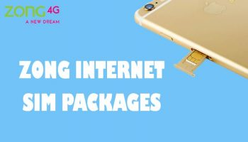 Zong Internet Packages Daily Weekly Monthly - 4G Devices and